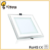 3-18W Glass Square led panel light