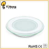 3-18W Glass Round led panel light
