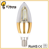 LED Aluminum CANDLE BULB